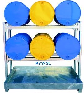 Picture of Dual Drum Racking (6 Drums)