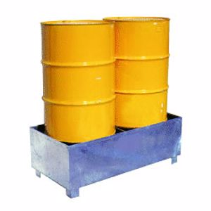 Picture of Drum Spill Containment Stand (2 Drums)
