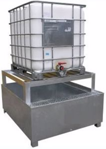 Picture of Spill Bins Intermediate Bulk Containers 2000Kg SWL